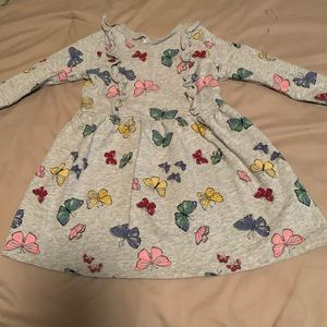 Carters Comfy Butterly Dress